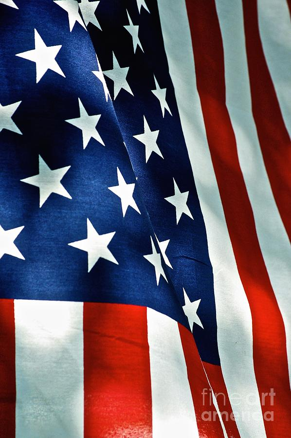 American Flag Photograph - Star-Spangled Banner by Frank J Casella