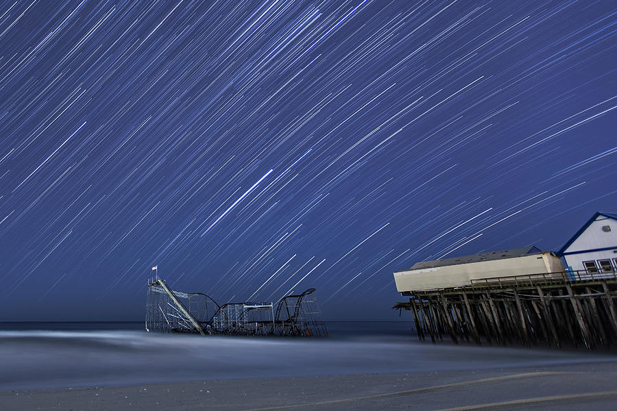 Hurricane Photograph - Star Spangled by Mike Orso