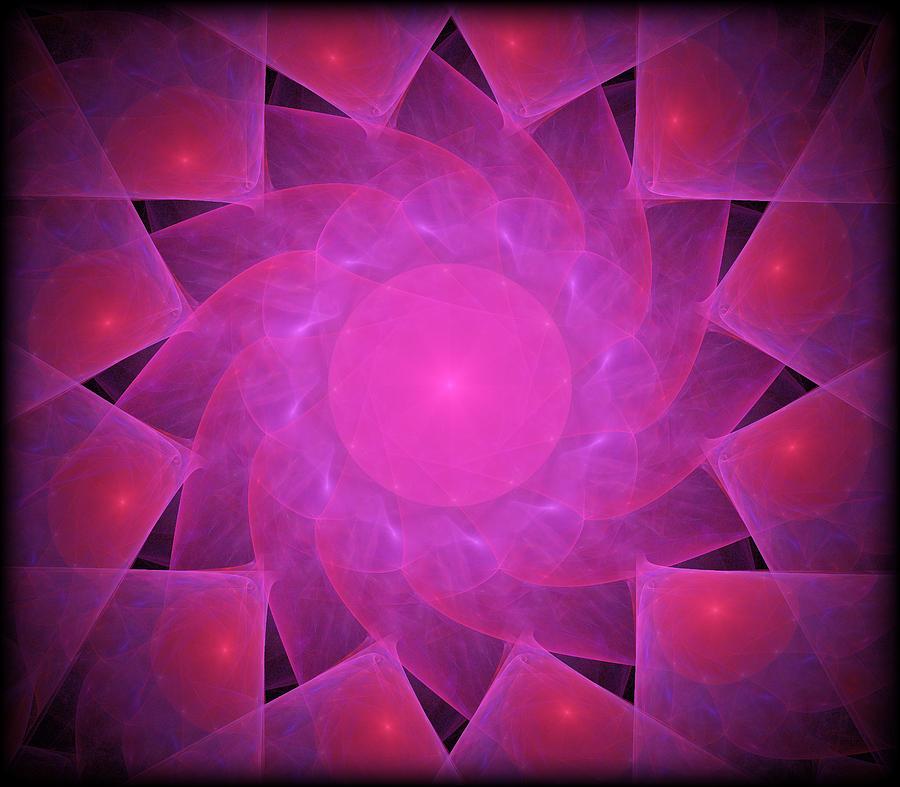 Star Swirl Digital Art