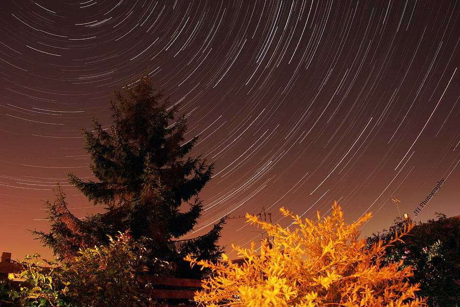 Nature Photograph - Star Trails by Jay Harrison