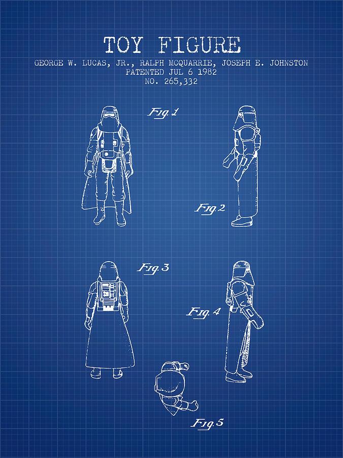 Star Wars Darth Vader Patent From 1982 Blueprint