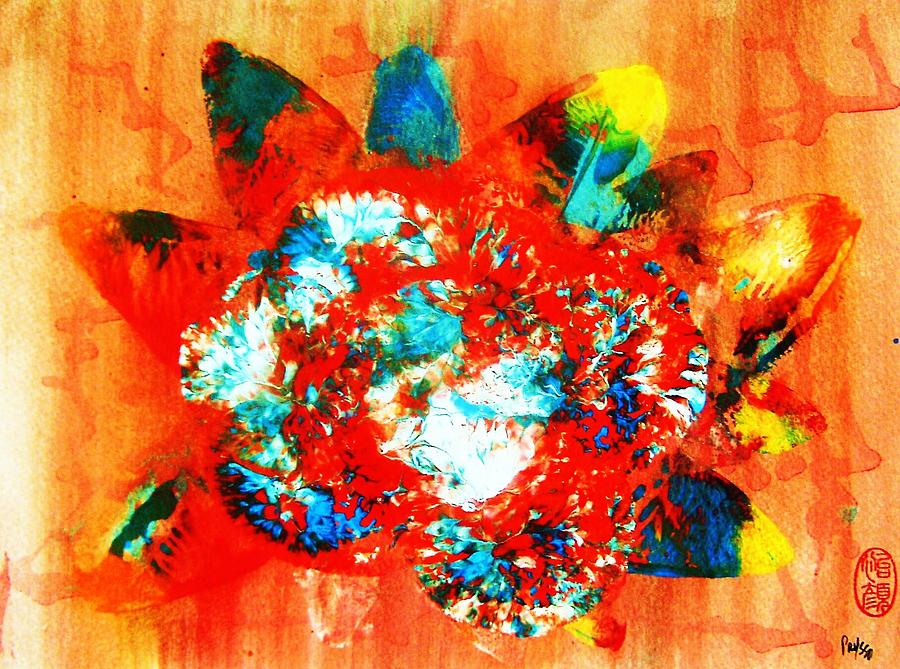 Abstract Painting - Starburst Nebula by Roberto Prusso