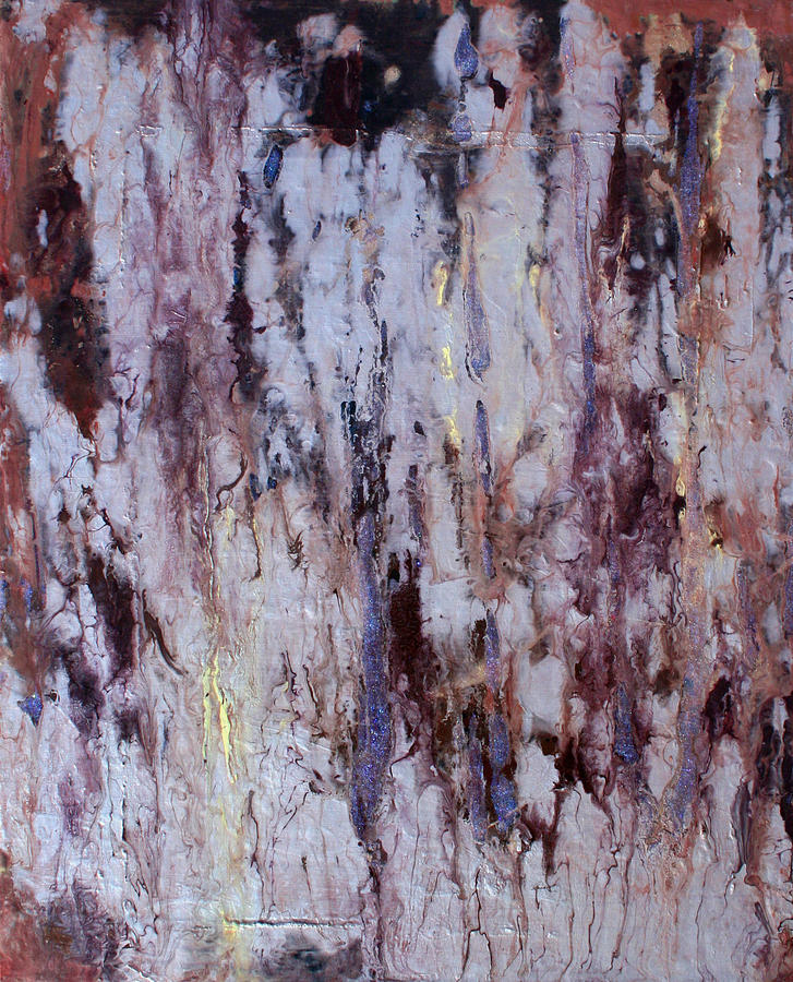 Abstract Painting - Stardust by Natalie Starnes