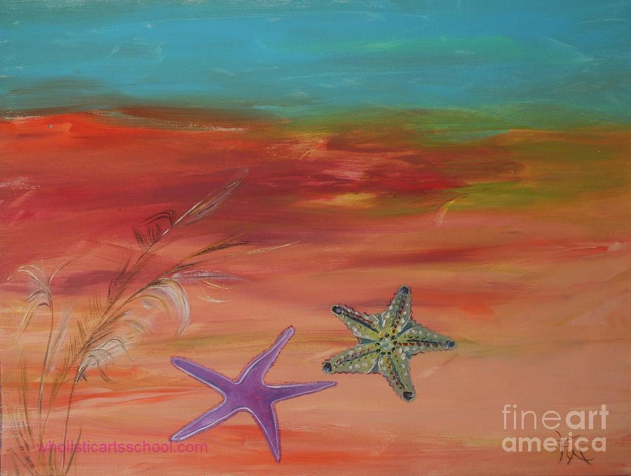 Starfish Painting - Starfish by PainterArtist FIN