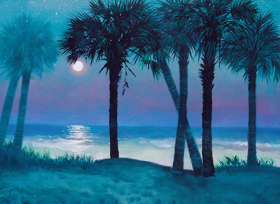 Starry Night Painting - Starry Night by Blue Sky