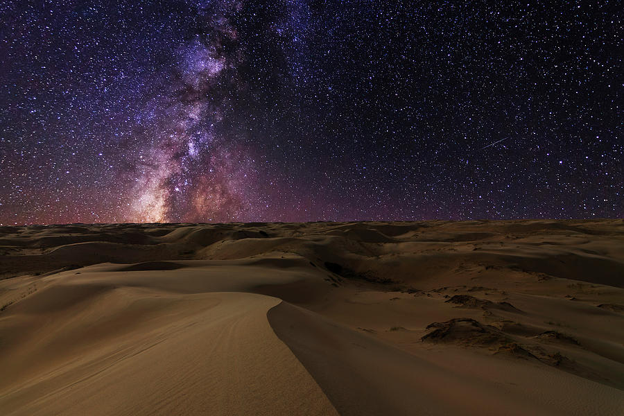 Starry Night In The Desert by Anton Petrus