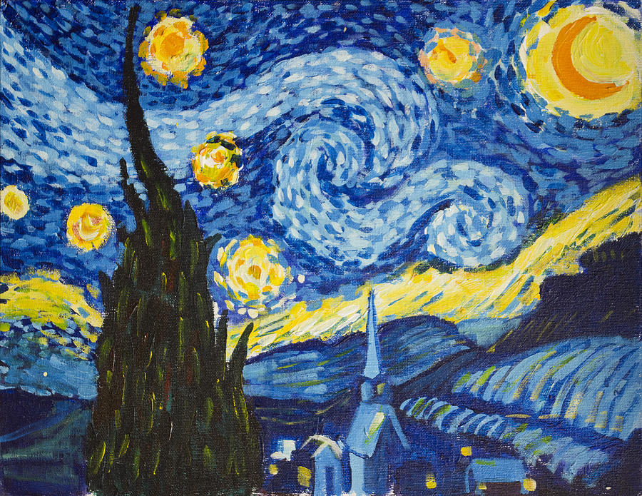 Starry Night by Richard Fritz