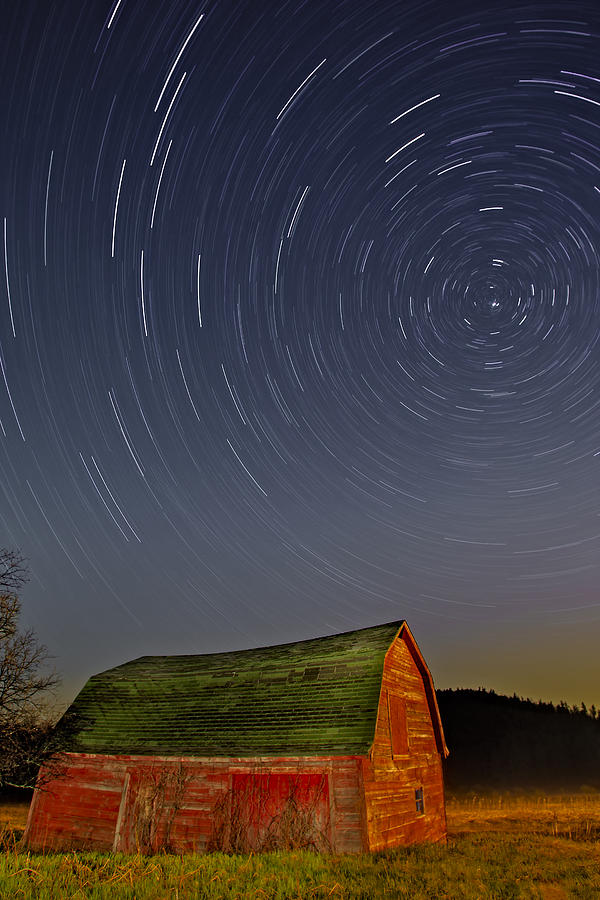 Star Trails Photograph - Starry Night by Susan Candelario