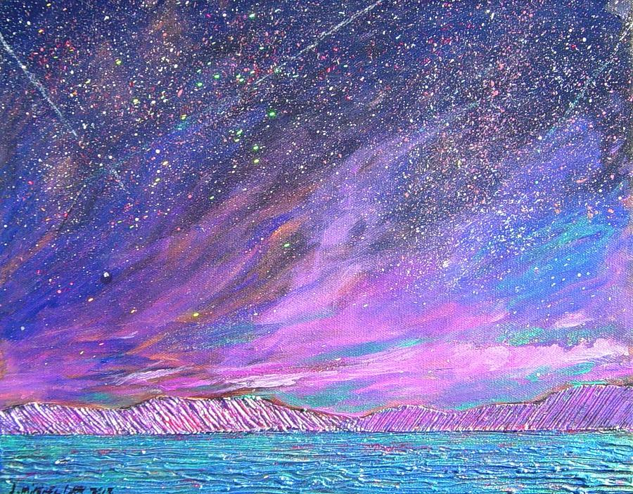 Sky Painting - Starry.....starry Night by J Michael Orr