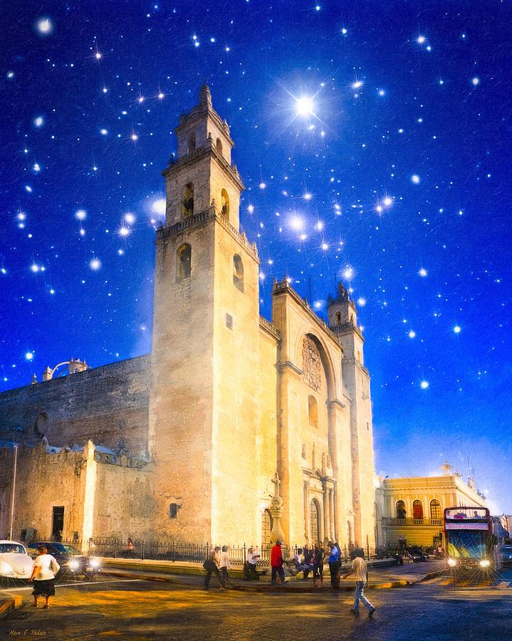 Merida Photograph - Stars Shine On Merida by Mark Tisdale