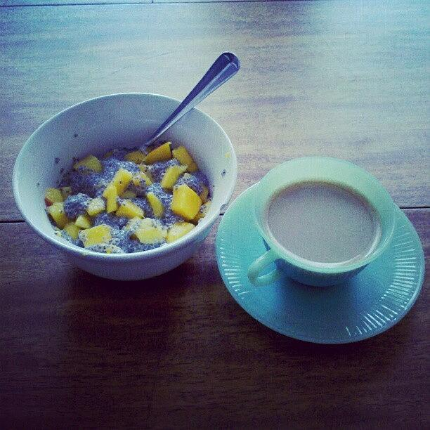 Breakfast Photograph - Starting My Saturday Morning Right With by Jill Tuinier