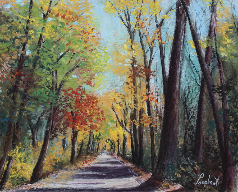Autumn Painting - Starved Rock Park - Autumn Colors by Prashant Shah