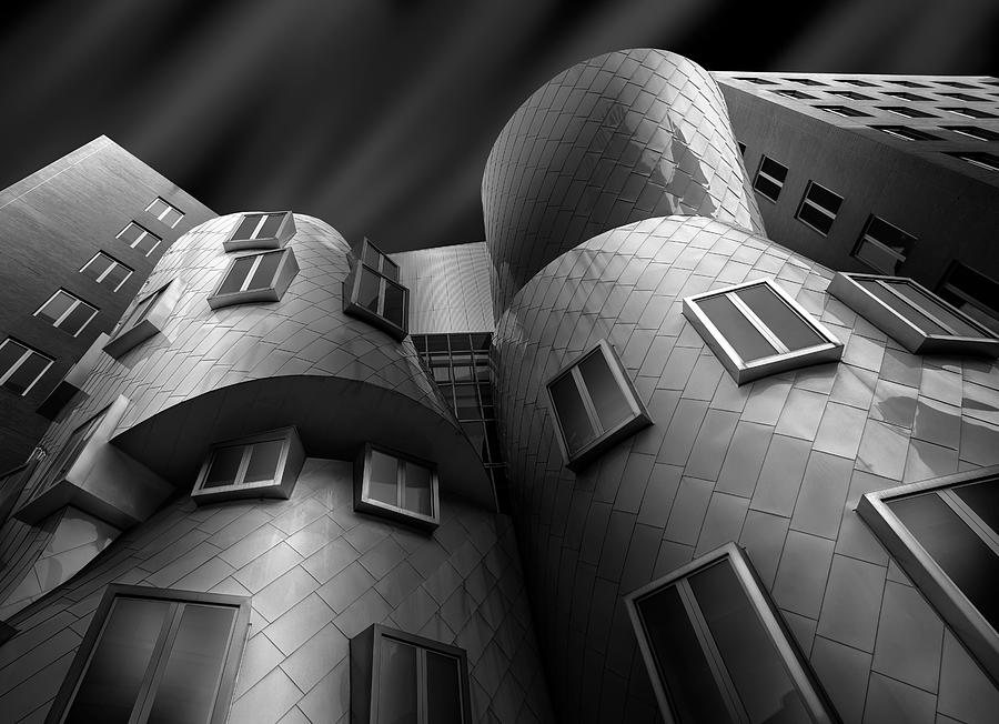 Boston Photograph - Stata Center by Louis-philippe Provost