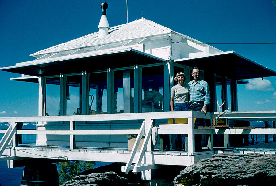 Lookout Photograph - State Line Lookout 1956 by Cumberland Warden