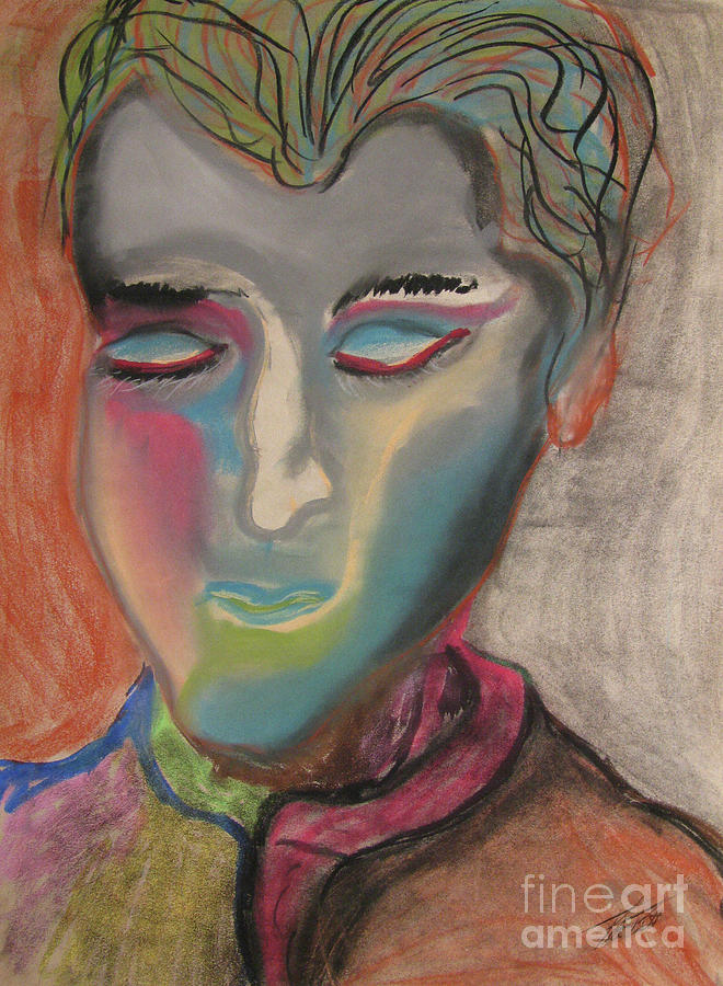 Pastels Pastel - State Of Solace  by Peter Piatt
