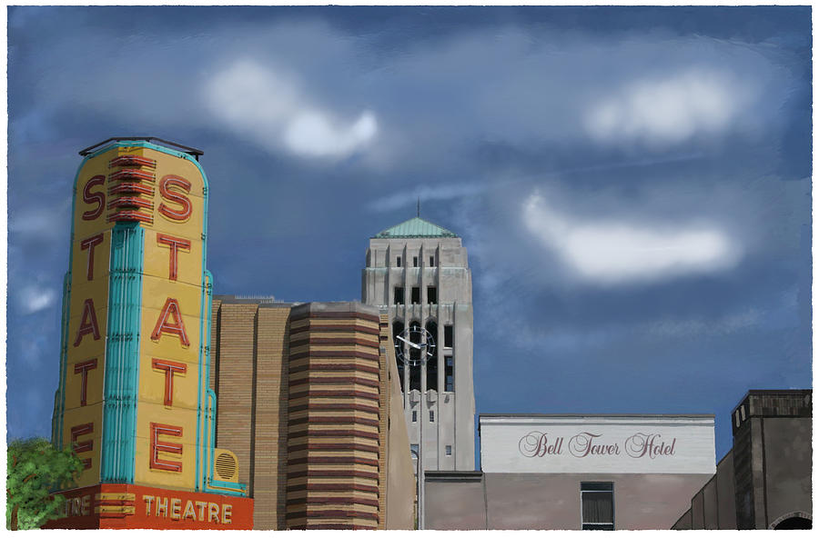 State Theater Photograph - State Theater by C A Soto Aguirre