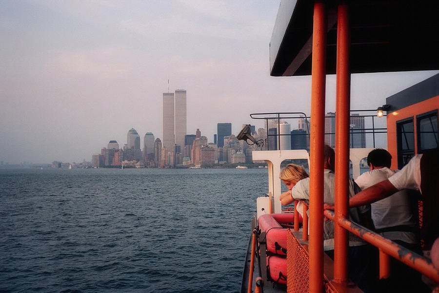 Staten Island Ferry View Photograph By Joann Vitali