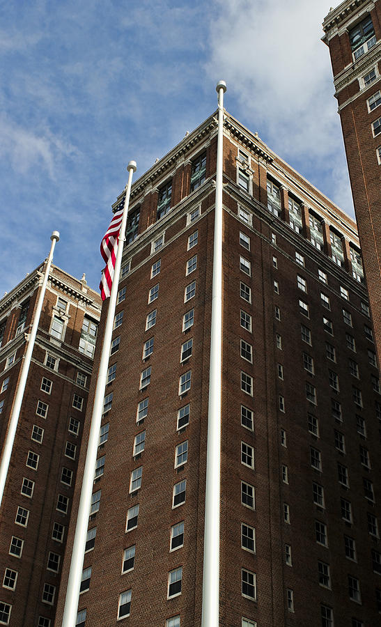 Hotel Photograph - Statler Towers by Peter Chilelli