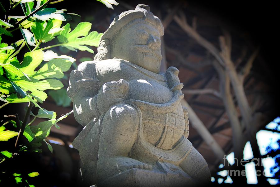 Statue Photograph - Statue In The Sun by Jackie Mestrom