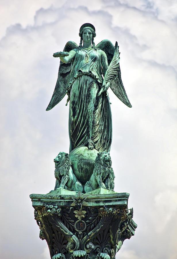 Statue Of Concordia Photograph By Marcia Colelli