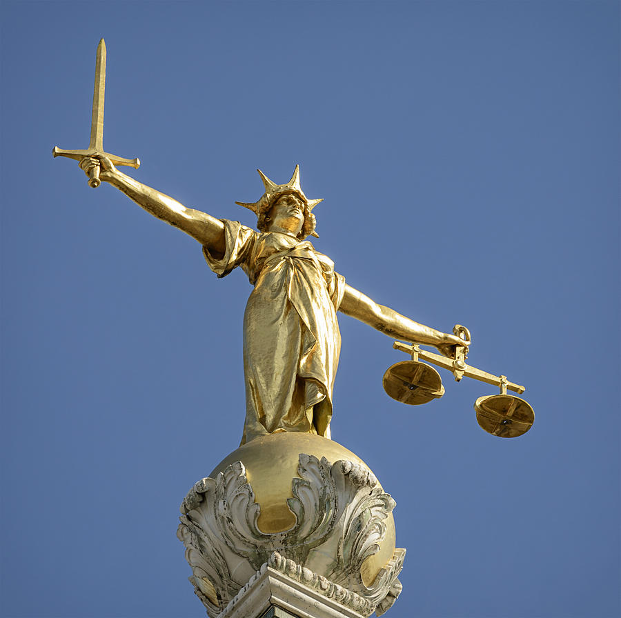 Statue of Lady Justice Photograph by Georgeclerk
