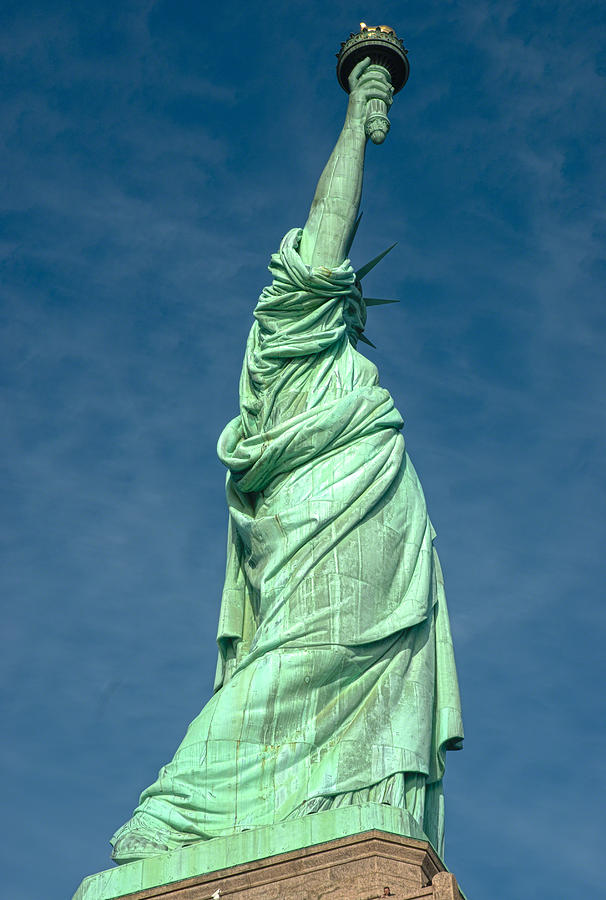 Statue Of Liberty Photograph - Statue Of Liberty Hdr by Clifford Pugliese