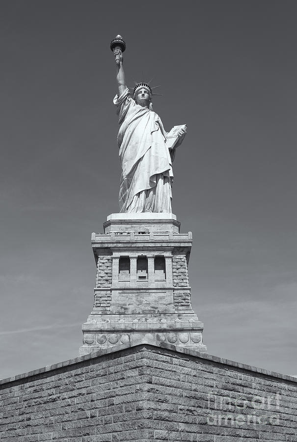 Clarence Holmes Photograph - Statue Of Liberty IIi by Clarence Holmes
