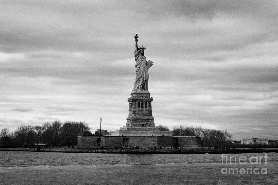 Usa Photograph - Statue Of Liberty Liberty Island New York City by Joe Fox