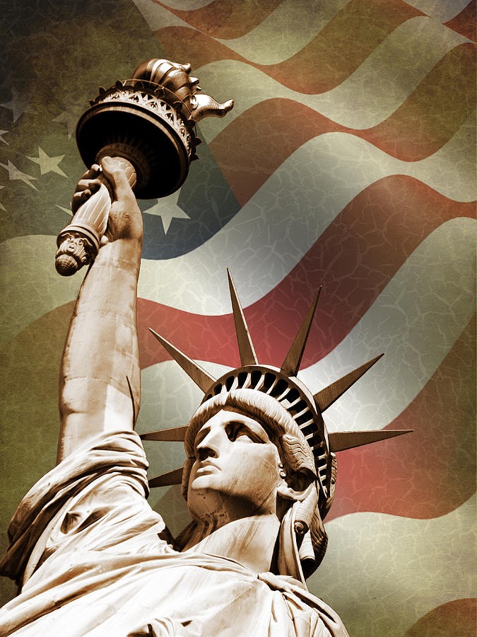 Statue Of Liberty Photograph - Statue of Liberty by Mark Rogan