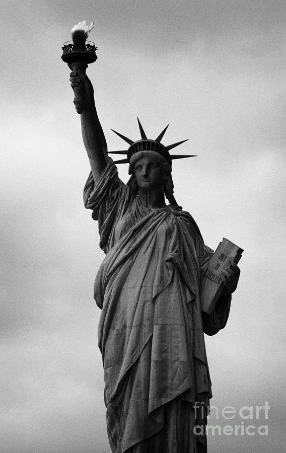Usa Photograph - Statue Of Liberty National Monument Liberty Island New York City Nyc by Joe Fox