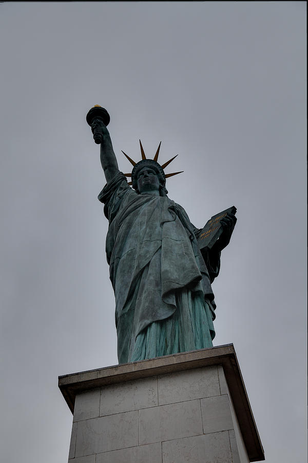 Aod Photograph - Statue Of Liberty - Paris France - 01131 by DC Photographer