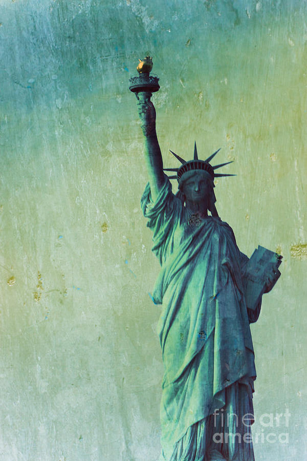 Statue Of Liberty Photograph - Statue Of Liberty by Sophie Vigneault