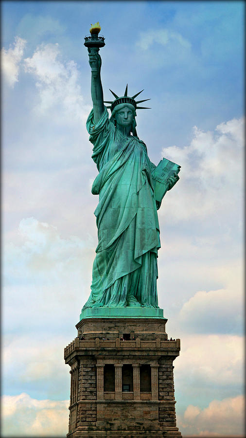 Statue Photograph - Statue Of Liberty by Stephen Stookey