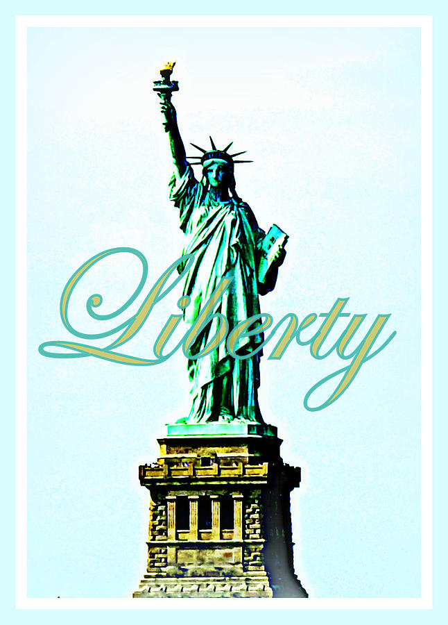 Statue Of Liberty Photograph - Statue Of Liberty by The Creative Minds Art and Photography
