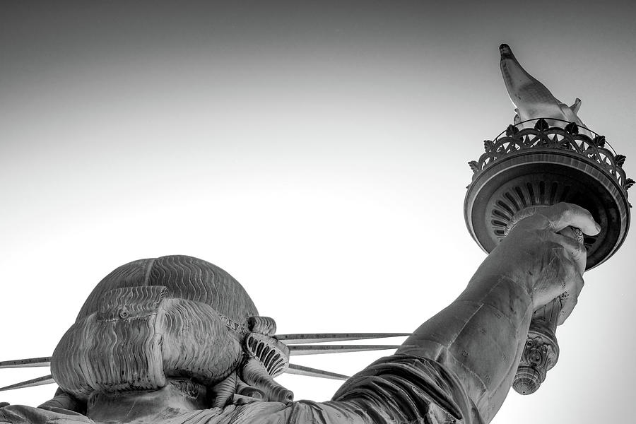 Statue Of Liberty Torch Detail, New Photograph by Les Wilcockson