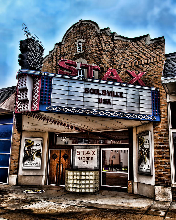 Memphis Photograph - Stax Records by Stephen Stookey