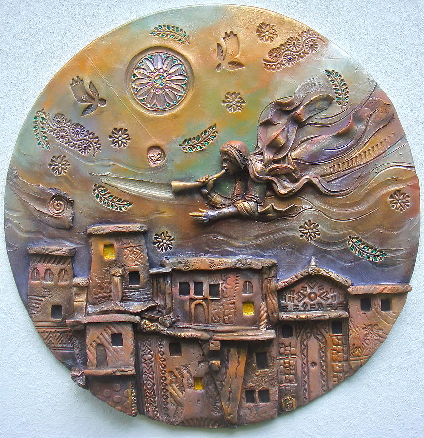 Religious Ceramic Art - Stay Awake For You Know Not The Hour by Gary Wilson