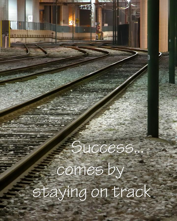 Stay On Track 21163 Photograph