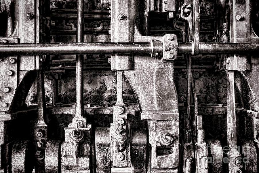 Locomotive Photograph - Steam Engine by Olivier Le Queinec
