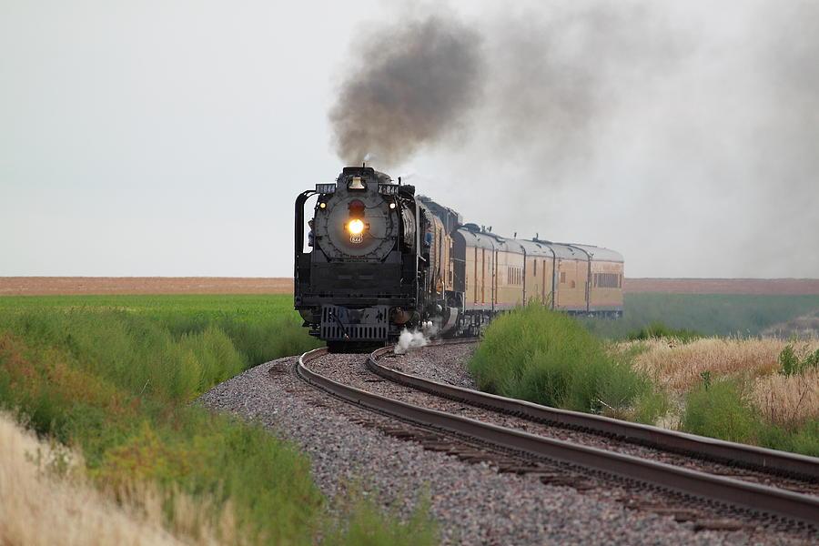 Steam Engine Photograph - Steam On The Plains by Jason Drake