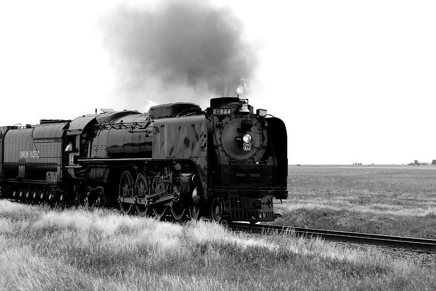Train Photograph - Steam Powered by Jason Drake