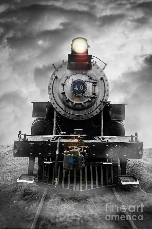 Essex. Train Photograph - Steam Train Dream by Edward Fielding