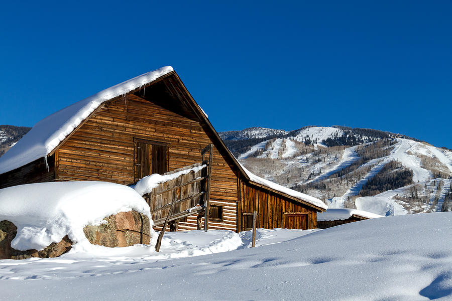 Champagne Powder Photograph - Steamboat Springs Colorado by Teri Virbickis