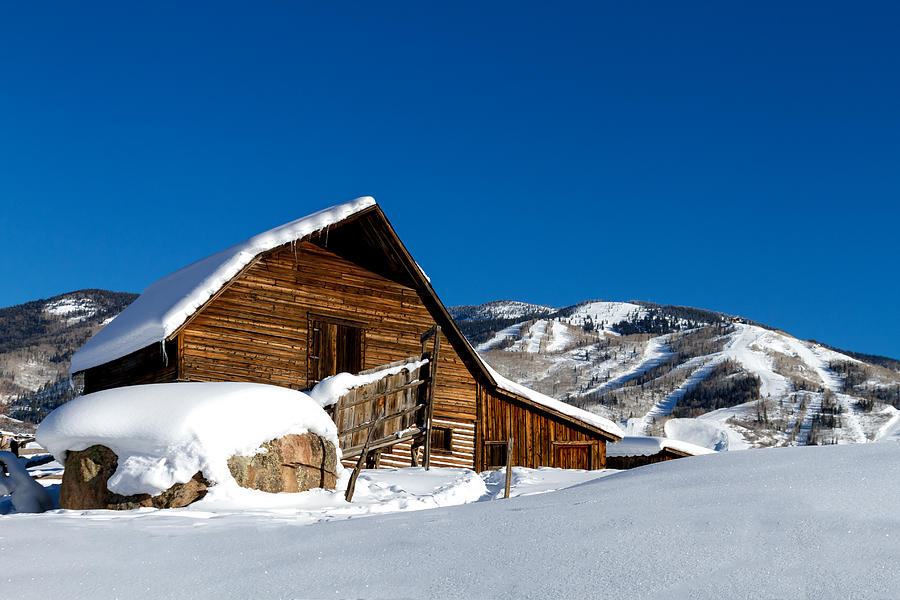 Champagne Powder Photograph - Steamboat Springs History by Teri Virbickis