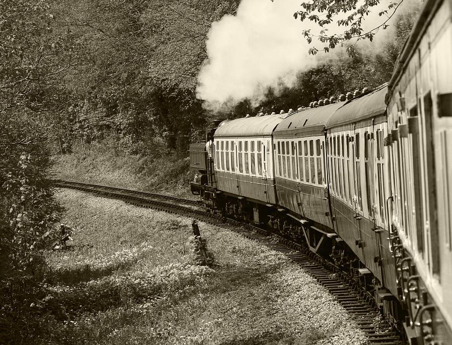 Full steam ahead by Susan Leonard