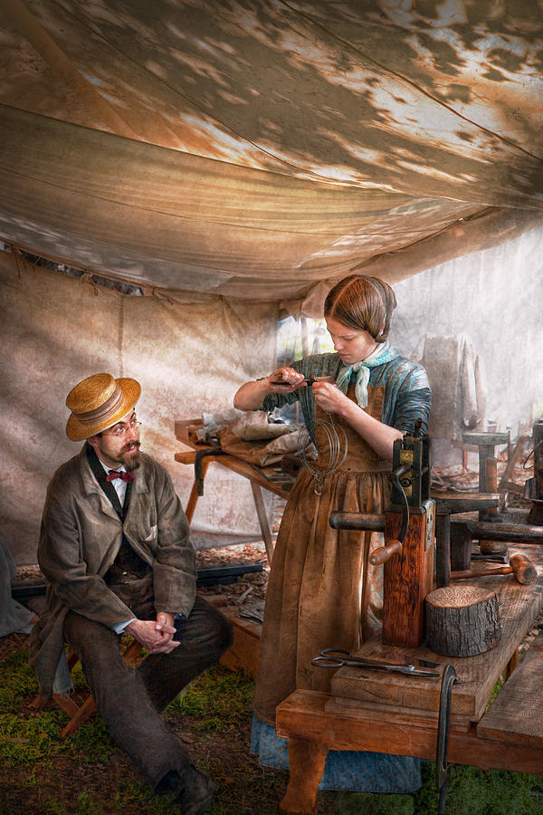Steampunk Photograph - Steampunk - The Apprentice by Mike Savad