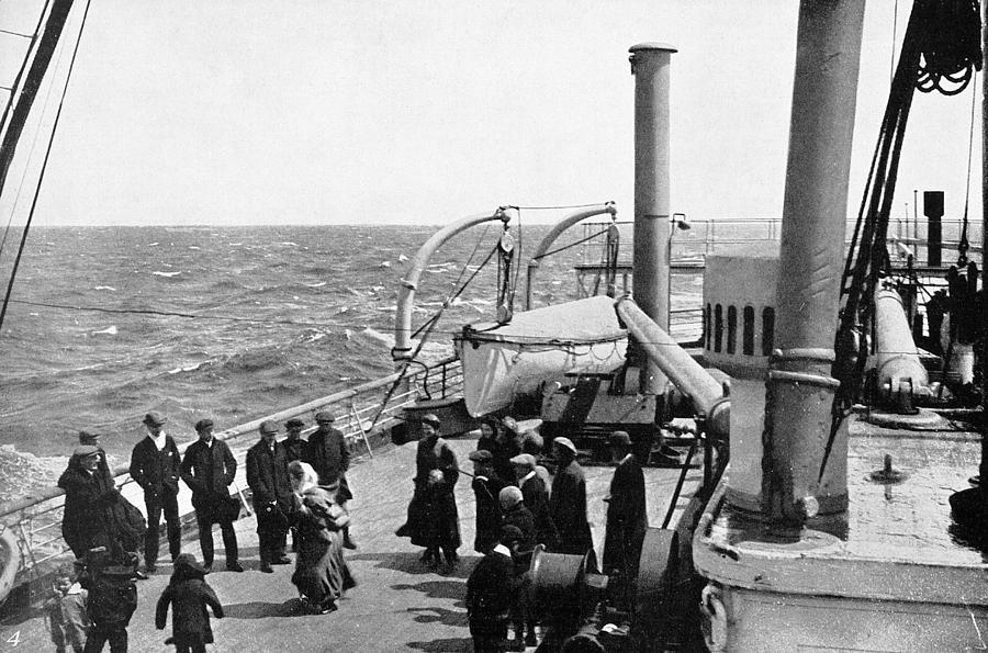 1914 Photograph - Steamship 1914 by Granger