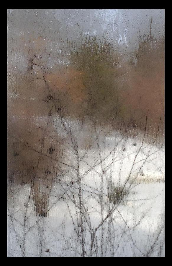 Window Photograph - Steamy Window by Tim Nyberg