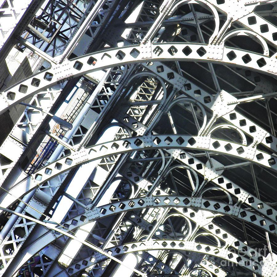 Sarah Loft Photograph - Steel Arches by Sarah Loft