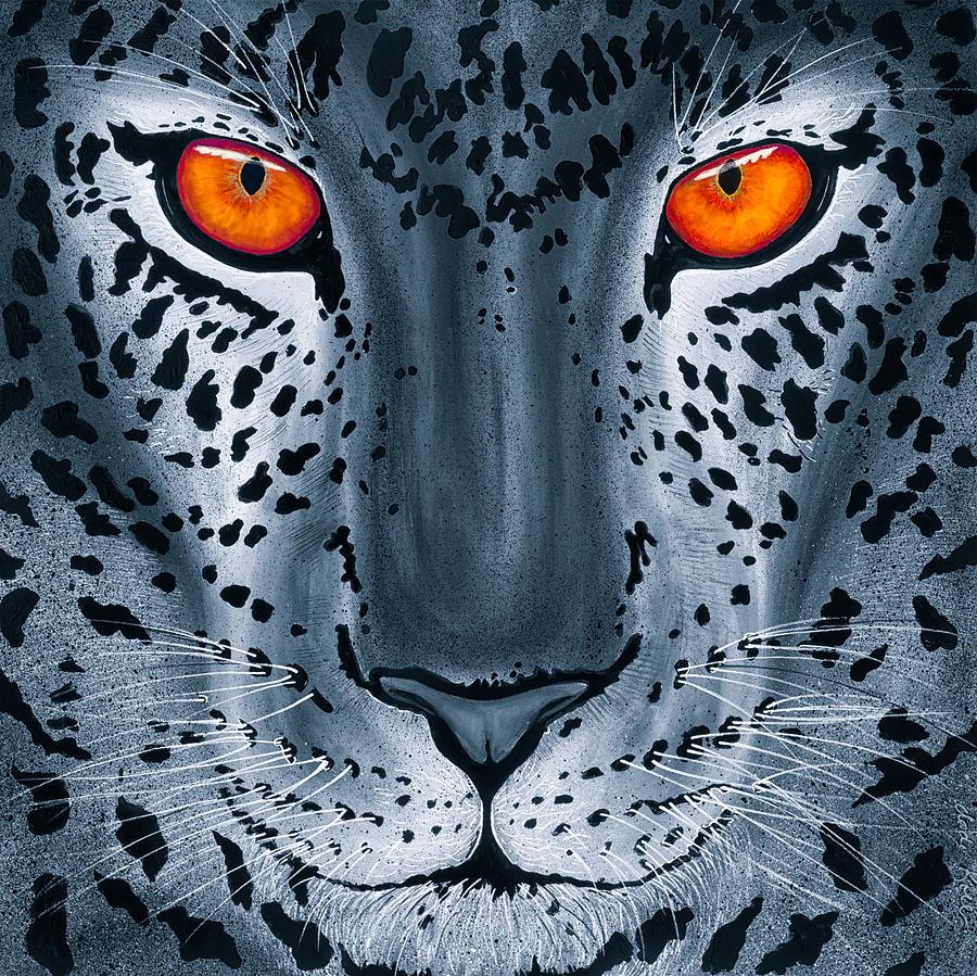 Leopard Painting - Steel Leopard by Dede Koll